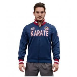 Куртка синяя KARATE